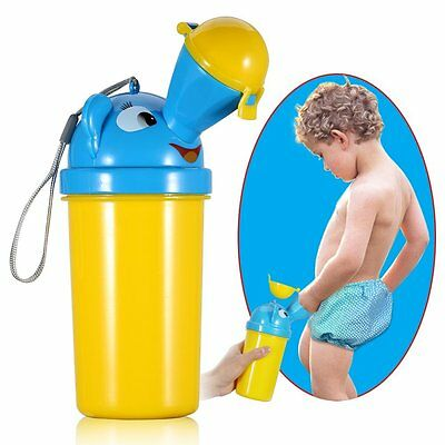 Baby Kids Portable Urinal Travel Car Toilet Vehicular Potty For Boy s on the GO