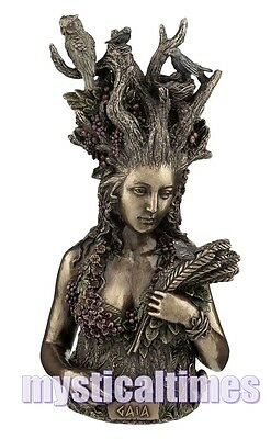 New * Gaia * Goddess Statue Ornament Figurine From Nemesis Now Free Post G1813