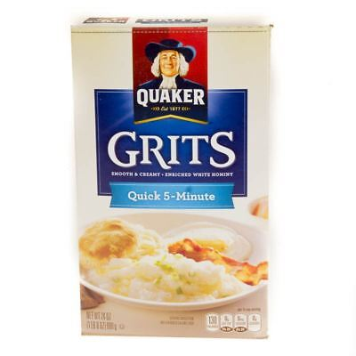 Quaker Grits Quick 5-Minute 680g (24oz) (Pack of 2)