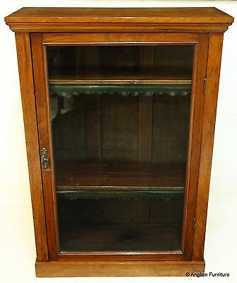 Victorian Walnut Pier Cabinet Bookcase with FREE Nationwide Delivery