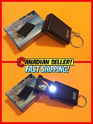 Pull-Type Jewelry Loupe / Magnifying Glass with LED Light NIB