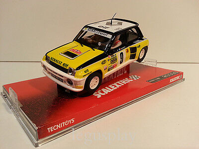 "Slot SCX Scalextric 6485 Renault 5 Turbo ""Ragnotti"" Elf Rally Monte Carlo - Nº9"