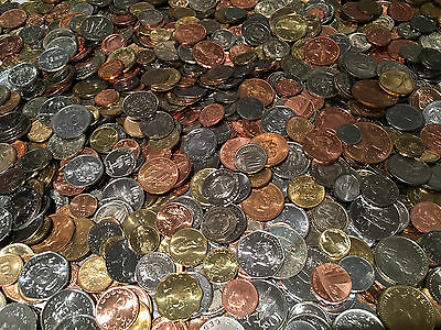 $ Uncirculated Foreign Coins Set World Money Currency Collection Mixed Lot Sale!
