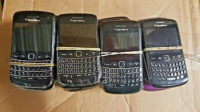 20 Lot Blackberry Bold Curve 9790 9360 GSM For Parts Repair Used Wholesale As Is