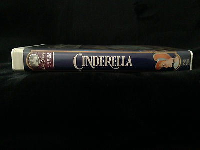 Rare Walt Disney Masterpiece Collection Cinderella (Vhs, 1995)