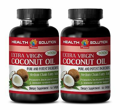 Coconut for Skin - EXTRA VIRGIN COCONUT OIL 3000MG - Helps With Digestion - 2Bot