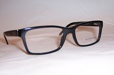c4b3bfd2db NEW BURBERRY EYEGLASSES BE 2108 3001 BLACK 54mm AUTHENTIC RX ...
