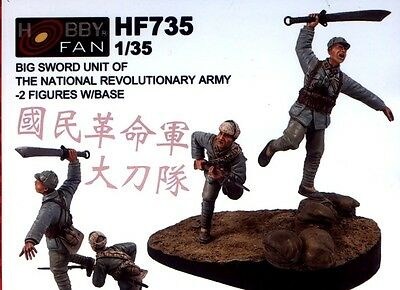 Hobby Fan 1/35 HF-735 Big Sword Unit of The National Revolutionary Army - 2 Figs