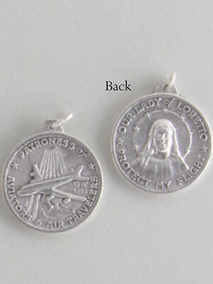 NEW  Holy Medal - Our Lady of Loretto - 25mm - *FREE POSTAGE*