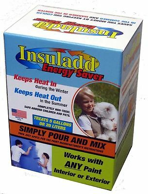 Insuladd Heat Reflective Insulating Heating/Cooling Paint Additive Insulad
