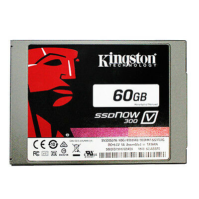 Kingston Technology 60GB SSDNOW Solid State Drive 2.5 inch V300 SATA3 hard drive