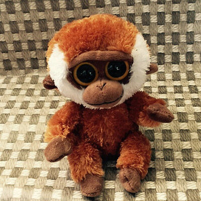 Soft TOY FroTY BEANIES BOOS monkey BONGO 6inch Stuffed without all tags
