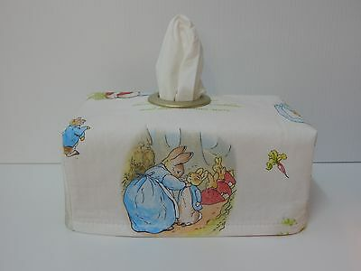 Peter Rabbit Tissue Box Cover With Circle Opening - Lovely Gift