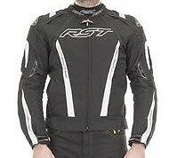 RST 1722 Pro Series CPXC Sport Textile Waterproof Motorcycle Jacket White