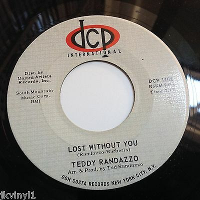 Teddy Randazzo-Lost Without You-Dcp 1108. Vg+
