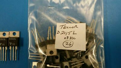 (5 PCS) D2015L TECCOR Diode Switching 200V 9.5A 3-Pin(3+Tab) TO-220AB Isolated
