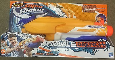 NERF Super Soaker - Double Drench Blaster - A4840-GREAT FUN