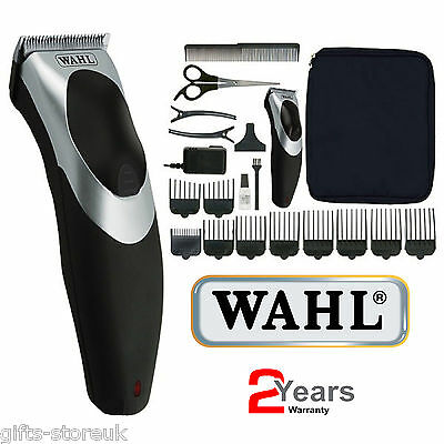 Wahl 9639-017 Clip N Rinse Cord/Cordless Rechargeable Hair Cutting Clipper Kit