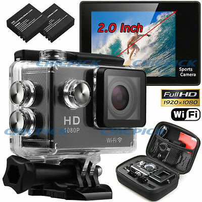 Waterproof WIFI  Video Action Sports Camera SJ4000 DV 1080P Helmet Camcorder DVR