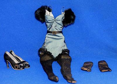 Black As Night Evangeline outfit Only Tonner Wilde Imagination NO DOLL Parnilla