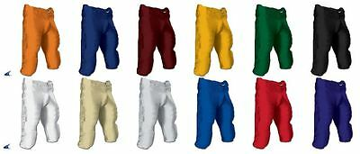 New Integrated Youth Football Game Pant W/ Sewn In Pads