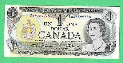1973 Bank of Canada - $1 Bank Note -  EAN 7899758 UNC