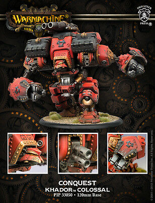 Warmachine Pip33050 Khador Conquest Colossal - New
