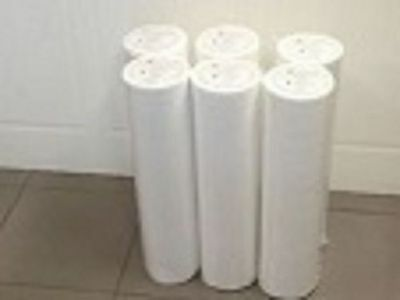 2 x 100mt Rolls Disposable Massage Bed Beauty Bed Cover Sheet Perforated Roll