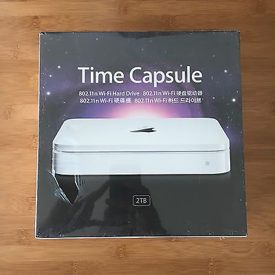 Apple Time Capsule 2TB A1409 - Time Machine Backup NAS & Router