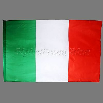1Pc 90*150cm Hanging Big Italy Flag Banner Indoor Outdoor Home Decor