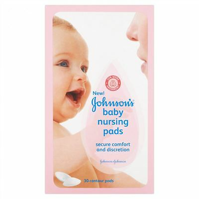 Johnsons Baby Nursing Pads 30 - 3 Pack