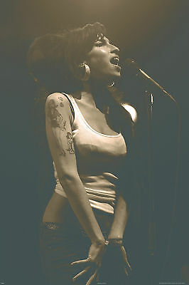 "Amy Winehouse Live in Concert  Poster  24""x36"" maxi size"