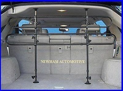 Dacia Duster Estate 13-On Tubular Dog Pet Guard Boot Safety Barrier