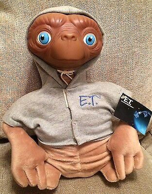 E.T. Soft Toy Figure Extra Terrestrial Made By Applause  New With Tags