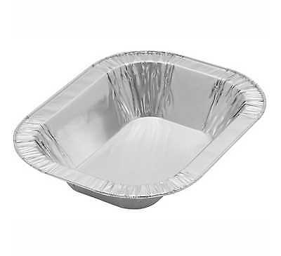 Aluminium Foil Container - Oblong - CS530481 196mm x 147mm - 1lb dishes x 500