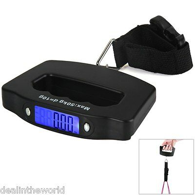 Hostweigh NS-10 LCD Mini Hand Carry Electronic Scale 50kg Capacity