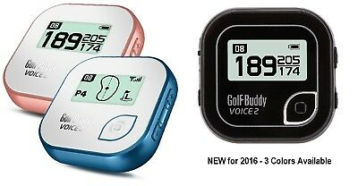 Golf Buddy Voice 2 GPS NEW for - Pick Color!!!