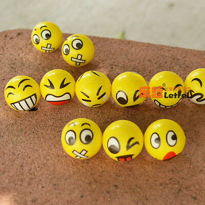 Smiley Face Anti Stress Reliever Ball Stressball ADHD Autism Mood Squeeze Toy