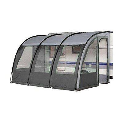 Leisurewize ONTARIO 390 Lightweight Caravan Porch Awning - Charcoal