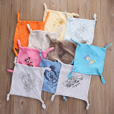 Square Baby Comforter Hand Towel Face Towels Kids Gifts Baby Comfort Blanket