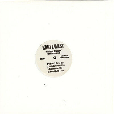 Kanye West The College Dropout  Vinyl Album (Instrumentals)
