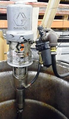 Graco Monark, Air Powered Drum Pump, 205-997, H94G, A1586