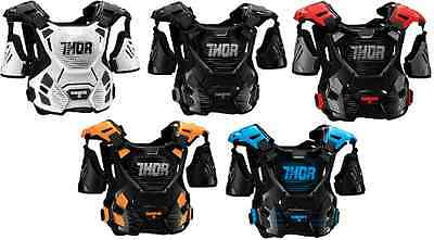 Thor Guardian Adult,Kids,Youth Chest Protector Roost Guard Offroad Dirtbike Atv