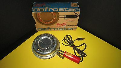 Vintage Working Chromalox Heat-Flo Automatic Electric Refrigerator Defroster USA