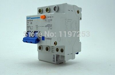 DZ47LE-32 2P C10 10A DIN Rail Overload Protection Current Circuit Breaker CHINT