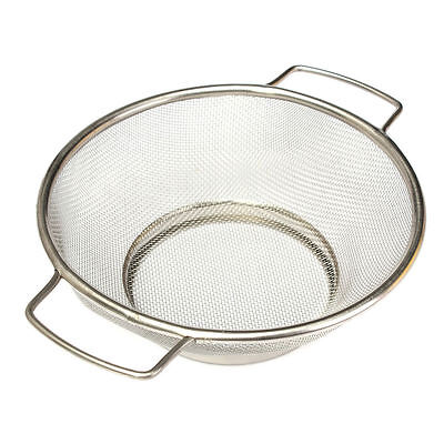 Stainless Steel Fine Mesh Strainer Bowl Drainer Vegetable Sieve Colander Sifter