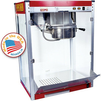 Commercial Popcorn Machine Maker - 16 oz. Kettle Popper Movie Theater