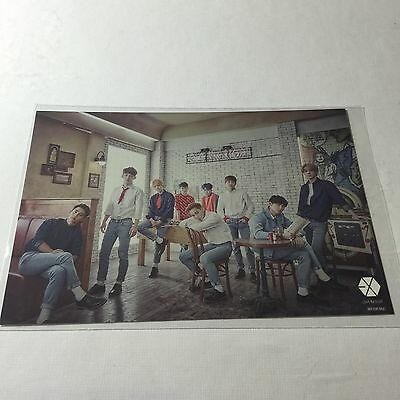 [OFFICIAL] EXO Japan Love Me Right Romantic Universe Photocard Postcard