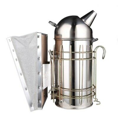 Stainless Steel Leather Bee Smoker Beekeeping