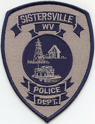 Sistersville West Virginia Wv Police Patch